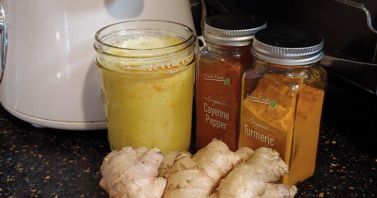 CBD Ginger Hot Shots